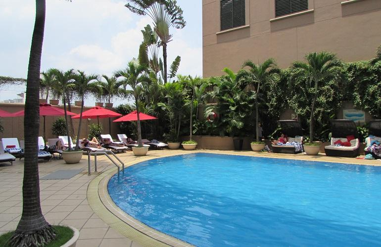 Swimming pool, Caravelle Hotel