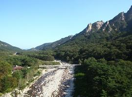 Hike in Seoraksan National Park