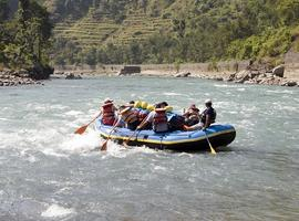 white water rafting, Nepal