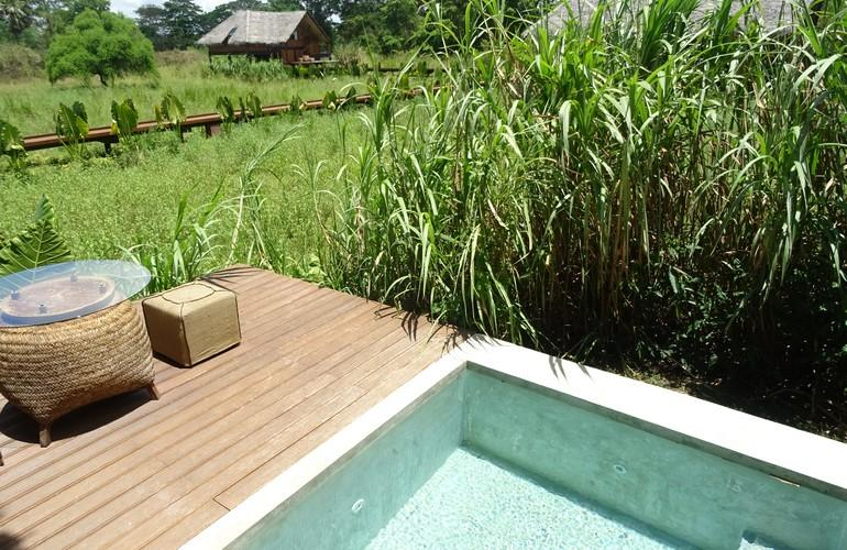 Paddy Dwelling's plunge pool, Jetwing Vil Uyana