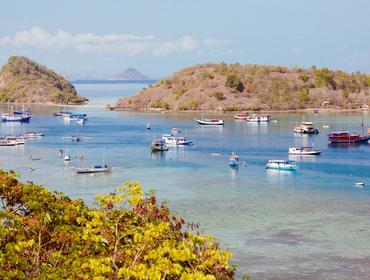 Picturesque port of Labuan Bajo