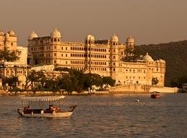Boats on Lake Pichola, Udaipur, Rajasthan