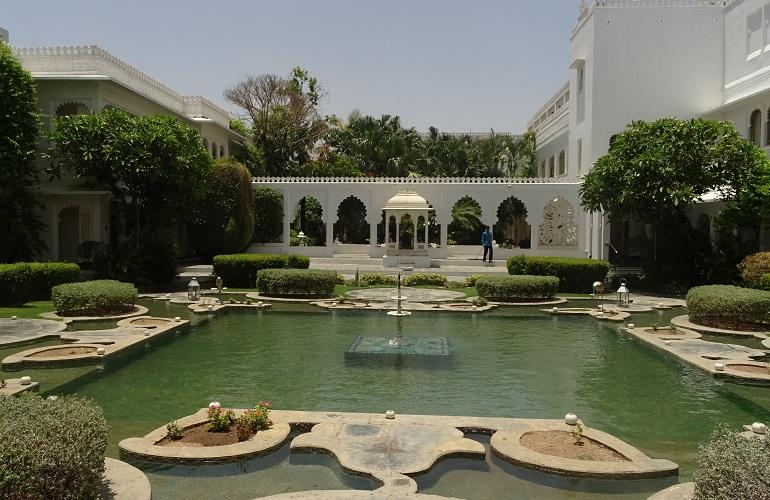 Courtyard, Taj Lake Palace