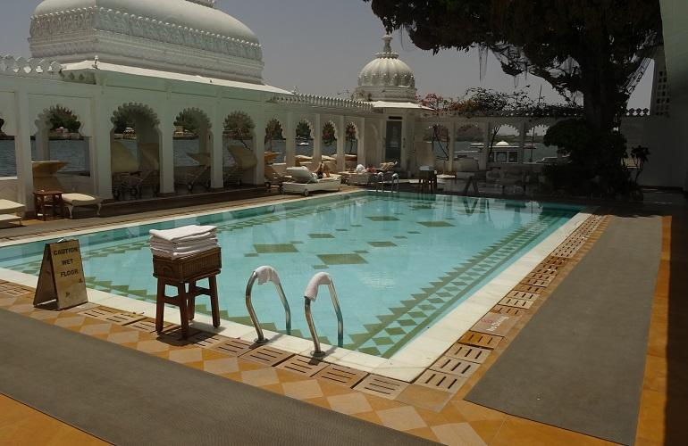 Pool, Taj Lake Palace