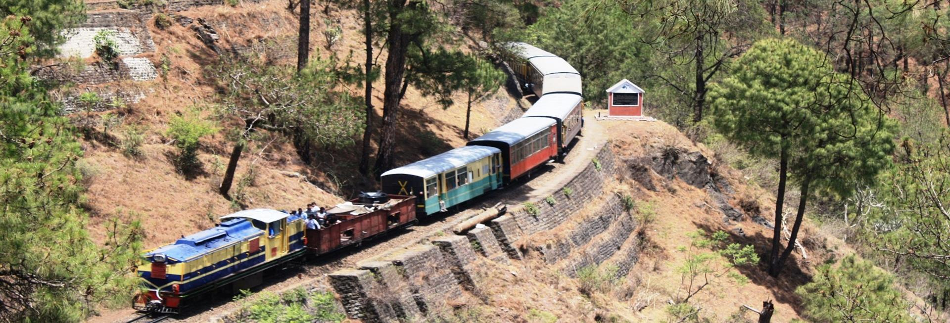 Ride the Shimla toy train, Shimla