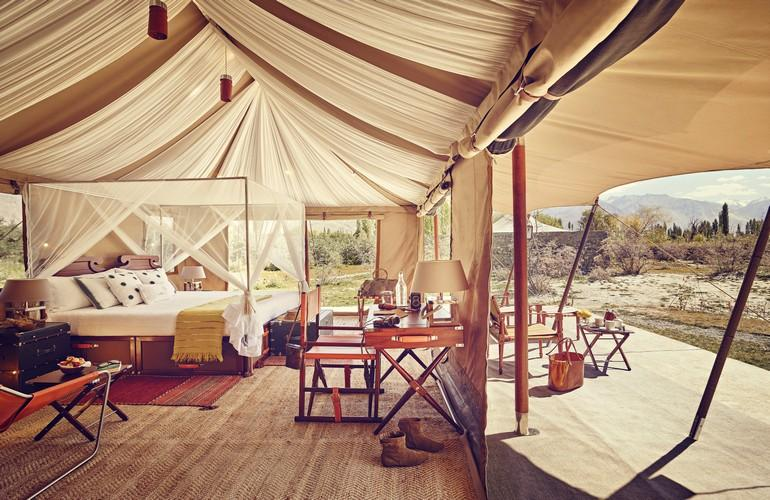 Luxury Suite Tent, Chamba Camp Diskit