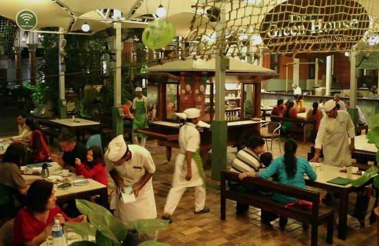 The Green House Café, The House of MG