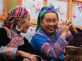 Hill tribe ladies, Sapa
