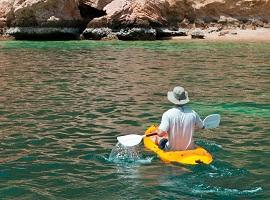 Kayaking in Muscat