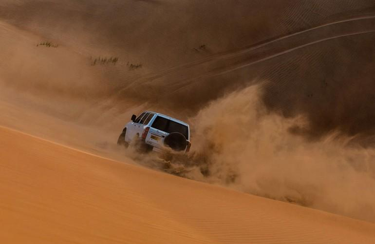 Dune Bashing, 1000 Nights Camp